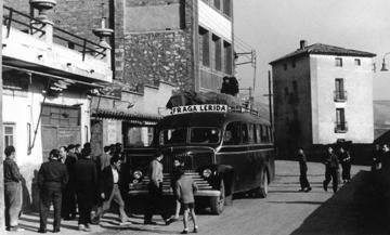 El servei regular de Mequinensa a Lleida