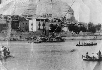 Els Garrigues som els barquers de Mequinensa